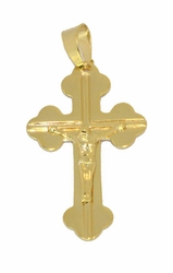 1-2465-D3 Mens Crucifix Pendant