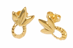 1-2501-D1 Pineapple Earrings