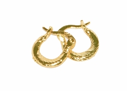1-2527-D3 12mm Baby Shrimp Hoops