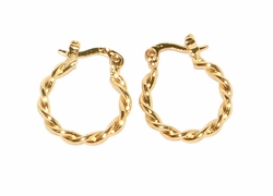 1-2540-D2 17mm Twist Hoops