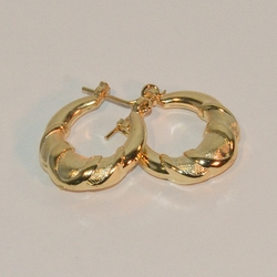 1-2549-e7 Gold Plated Basket Hoop