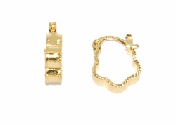 1-2554-D2 Small Hoop Earrings