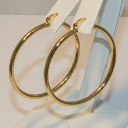 1-2601-e4 Ladies classic 3x45mm Hoops