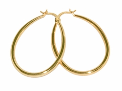1-2697-D1 34mm Oval Hoops