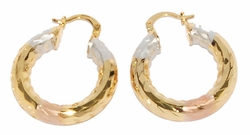1-2715-D1 30mm Three Tone Hoops