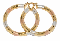 1-2726-D3 50mm Three Tone Hoops