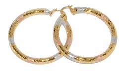 1-2731-D1 60mm Three Tone Hoops