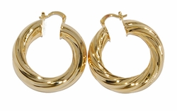 1-2733-D3 40mm Twist Hoops