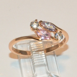 1-3066-e2 CZ Ring (2 colors available)