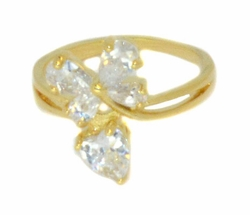 1-3112-D1 Ladies Cubic Zirconia Ring