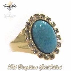 1-3114-C4 Turquoise Ring