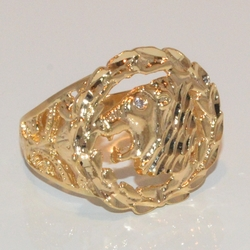 1-3160-e1 Man Lion Ring