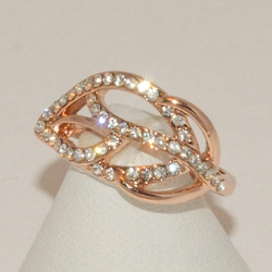 1-3171-e3 Rose Gold Plated Ring
