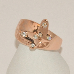 1-3176-1-e1 Rose Gold Plated Ring