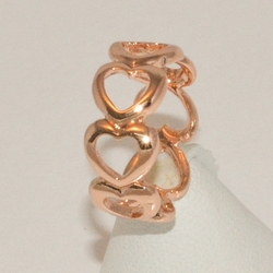 1-3179-e1 Rose Gold Plated Ring