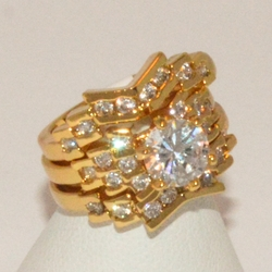 1-3188-e1 Ladies CZ Wedding Ring