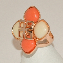 1-3193-e1 Rose Gold Plated Ring