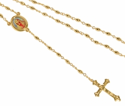 1-3308-D1 Mary Sacred Heart Rosary