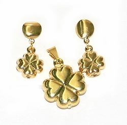 1-6050-D1 Four Leaf Clover Set