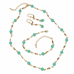 1-6270-D1 Ladies Beaded Complete Set