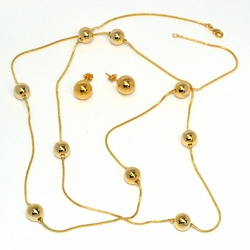 1-6026-D11 Necklace and Earrings Set