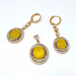 1-6485-f5 Yellow Stone Set