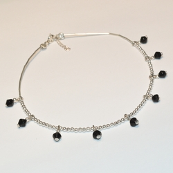 2-0136-e1 Beaded Anklet (3 Colors Available)