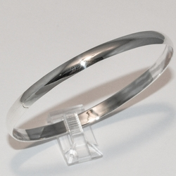 2-0684-e3 Sterling Classic 5mm Bangle SM size