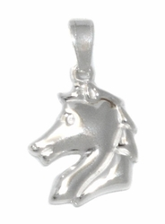 2-1244-D1 Sterling Silver Horse Pendant