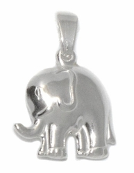 2-1315-D1 Sterling Silver Elephant Charm