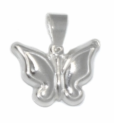 2-1416-D1 Sterling Silver Butterfly Charm