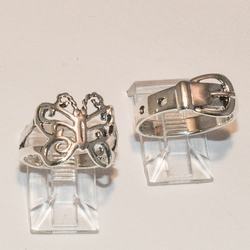 2-5027-e4 Ladies Sterling Rings (choose style)