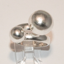 2-5064-e4 Sterling Double Ball ring