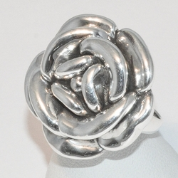 2-5068-e2 Puffed Flower Ring
