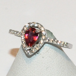 2-5088-e1 Cubic Zircon Ring (3 colors availbable)