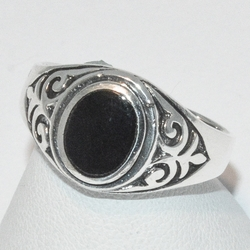 2-5271-e1 Oval Onyx Ring