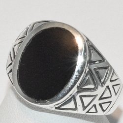 2-5278-e1 Oval Onyx Ring
