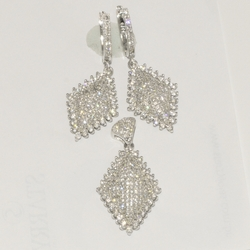 2-6471-D1 Sterling Micro Pave Set