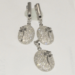 2-6503-D1 Sterling Micro Pave Set
