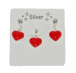 2-6576-D1 Red Heart Set