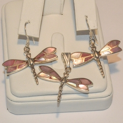 2-6747-e2 Shell Pearl Dragonfly Set