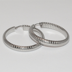 4-2130-e1 Ladies Ribbed Hoops