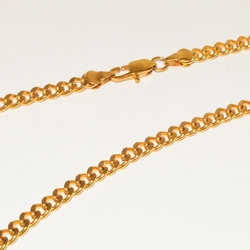 4-3175-e1 Gold Plated Cuban Link chain