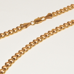 4-3178-e1 Gold Plated Cuban Link chain
