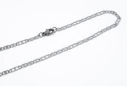 4-3199-f10 316l Stainless Steel Alternative Flat Link Chain. 3mm wide.