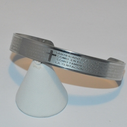 4-4162-e1 Our Father Prayer Bangle (unisex) *Special Price*