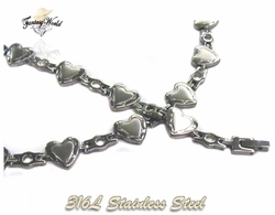 4-6047-C1 Ladies Heart Set