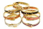 MBAN-FSH-16-D1 DOZEN Animal Print Bangles (12PC)