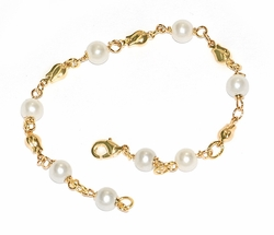 1-0546-n-D1 Pearl Beaded Bracelet