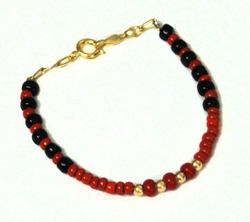 "MBRA-KD-03-D1 Kids 5"" Beaded Bracelet"